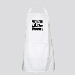 PROTECT THE WOLVES Apron