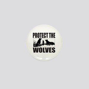 PROTECT THE WOLVES Mini Button