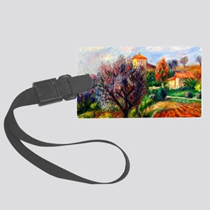 Glackens - Hillside with Olive T Large Luggage Tag