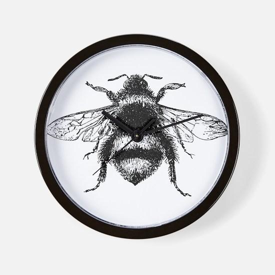 Vintage Honey Bee Wall Clock