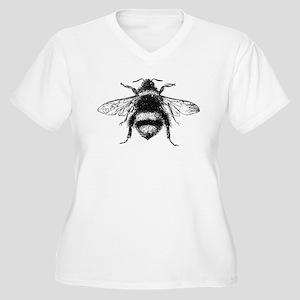 Vintage Honey Bee Plus Size T-Shirt