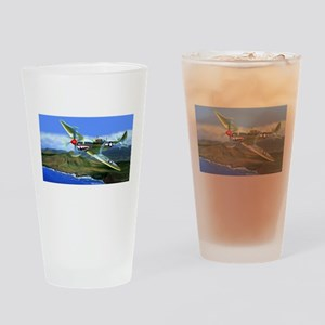 SPITFIRE OVER HAWAII Drinking Glass