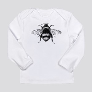Vintage Honey Bee Long Sleeve T-Shirt