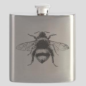 Vintage Honey Bee Flask