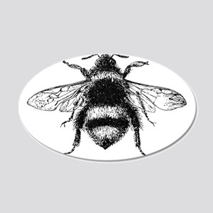 Vintage Honey Bee Wall Decal