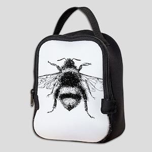 Vintage Honey Bee Neoprene Lunch Bag
