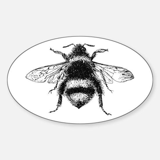 Vintage Honey Bee Decal