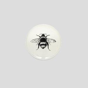 Vintage Honey Bee Mini Button