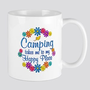 Camping Happy Place Mug