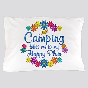 Camping Happy Place Pillow Case