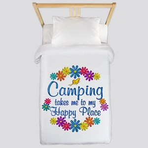 Camping Happy Place Twin Duvet