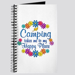 Camping Happy Place Journal