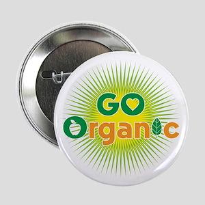"""Go Organic 2.25"""" Button"""