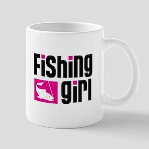 Fishing Girl Mug