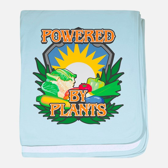 Powered by Plants baby blanket