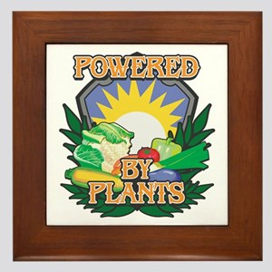 Powered by Plants Framed Tile