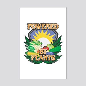 Powered by Plants Mini Poster Print