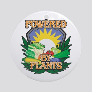 Powered by Plants Ornament (Round)