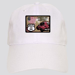 Route US 66 Baseball Cap