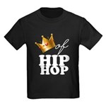 King/Queen of Hiphop Kids Dark T-Shirt