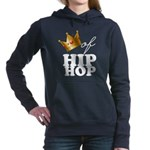 King/Queen of Hiphop Women's Hooded Sweatshirt