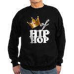 King/Queen of Hiphop Sweatshirt (dark)