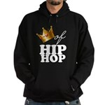 King/Queen of Hiphop Hoodie (dark)