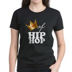 King/Queen of Hiphop Women's Dark T-Shirt
