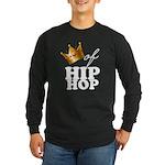 King/Queen of Hiphop Long Sleeve Dark T-Shirt