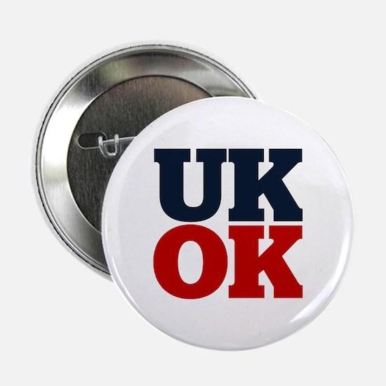 """UK? OK!! 2.25"""" Button"""