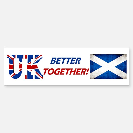 Better Together! Sticker (Bumper)