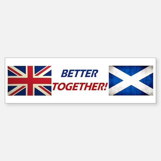 UK? OK!! Sticker (Bumper)