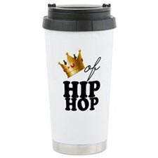 King/Queen of Hiphop Stainless Steel Travel Mug