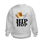 King/Queen of Hiphop Kids Sweatshirt