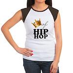 King/Queen of Hiphop Women's Cap Sleeve T-Shirt