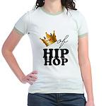 King/Queen of Hiphop Jr. Ringer T-Shirt