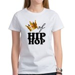King/Queen of Hiphop Women's T-Shirt