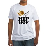 King/Queen of Hiphop Fitted T-Shirt