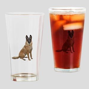 Belgian Malinois Drinking Glass