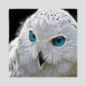 White Owl Queen Duvet