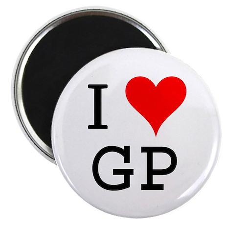 I Love GP Magnet
