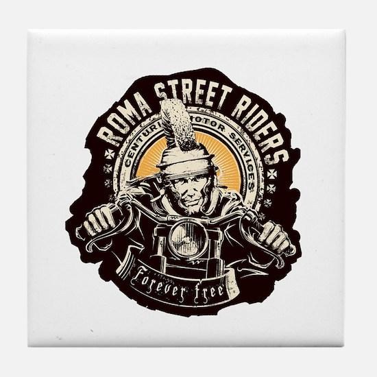 Roma Street Riders Tile Coaster