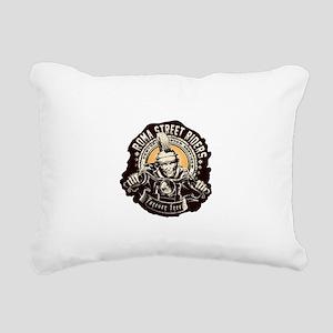 Roma Street Riders Rectangular Canvas Pillow