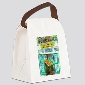 Pike Place Market Entrance Canvas Lunch Bag