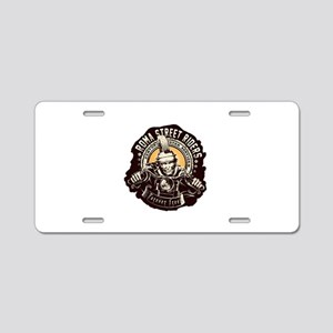 Roma Street Riders Aluminum License Plate