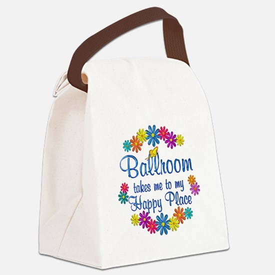 Ballroom Happy Place Canvas Lunch Bag
