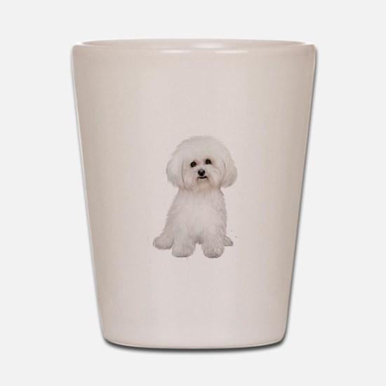 Bichon Frise #2 Shot Glass