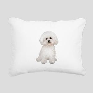 Bichon Frise #2 Rectangular Canvas Pillow