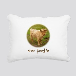 Wee Peedie Rectangular Canvas Pillow