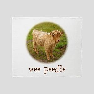 Wee Peedie Throw Blanket
